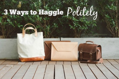 3 ways to haggle politey