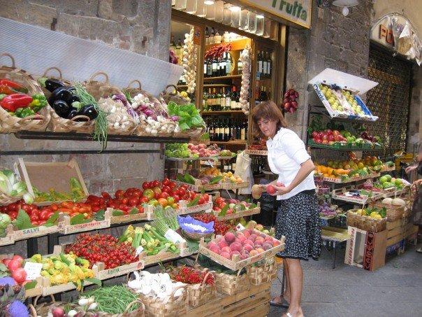 Florence, Italy market