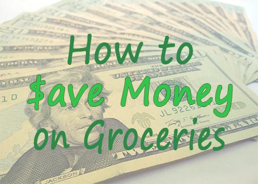 money on groceries