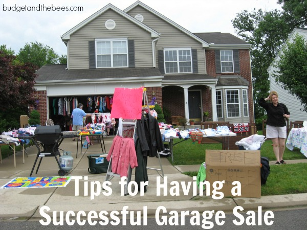 Tips for Having a Successful Garage Sale #sponsored