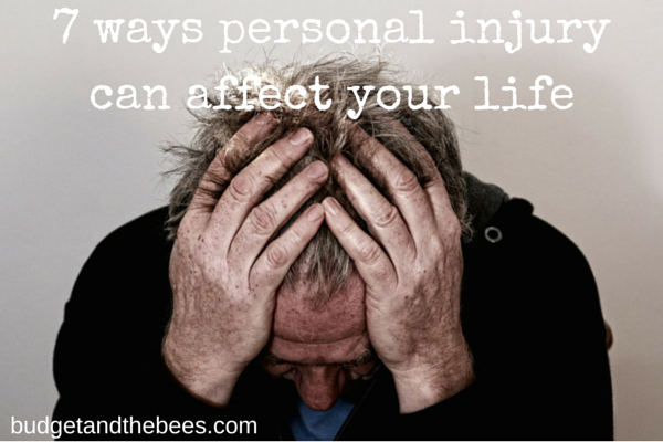7 ways a personal injury can effect your life #sponsored