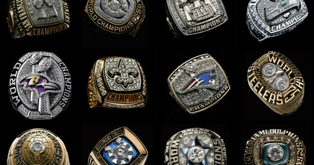 What Nlf Teams Has Most Rings