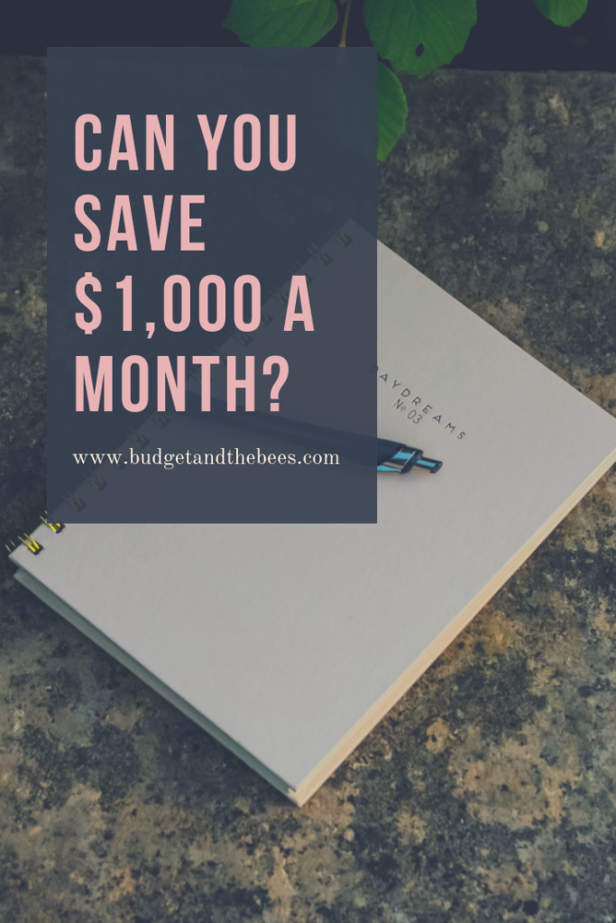 save $1000 a month