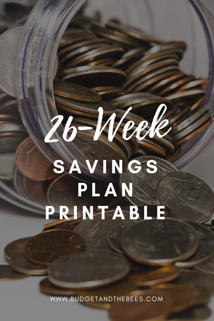 Crush image for 26 week savings plan printable