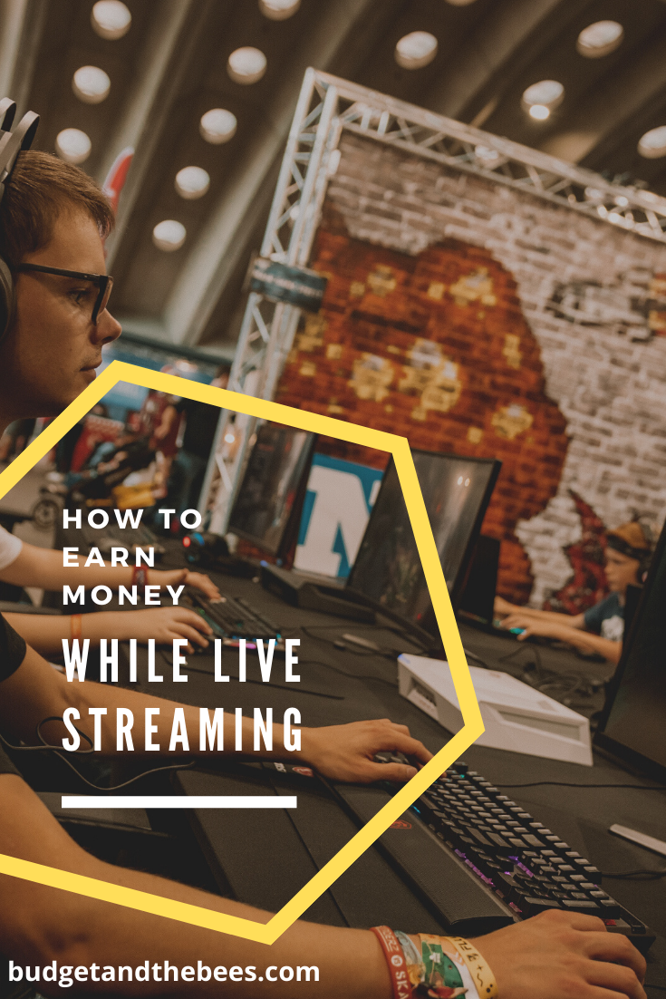 How to Earn Money While Live Streaming