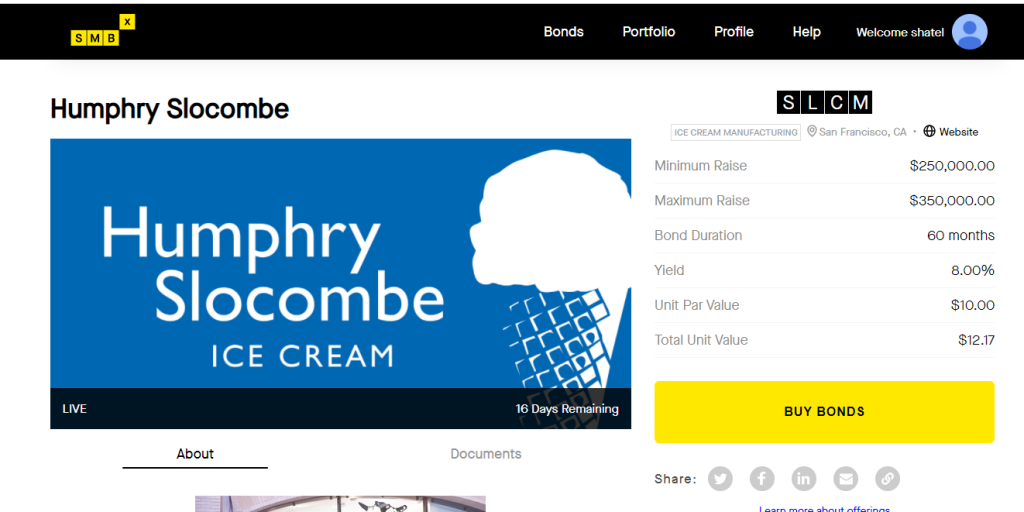 SMBX: Humphrey Slocumb ice cream
